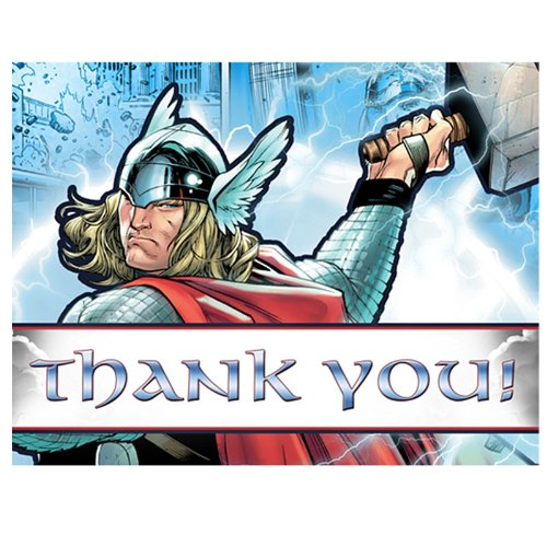 Thor Thank You Notes W/ Envelopes (8Ct)