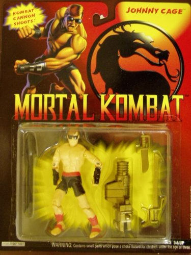 Mortal Kombat Johnny Cage Special Movie Edition Figure 1994