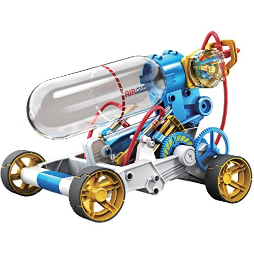 Owi 631 Air Power Racer Kit, Recommended Ages 10+, Fun And Easy To Build, Safety Valve Will Open And Bleed The Air Automatically If The User Keeps Pumping While The Tank Is Full