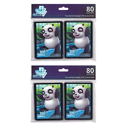 Star City Games Creature Collection Sleeve Twinpack: Panda