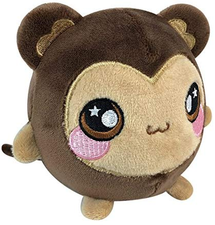 Squeezamals 3.5-Inch Plush Figure (Mila Monkey)