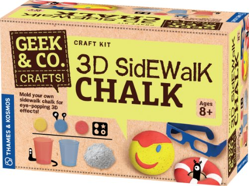 Geek &Amp; Co. Craft 3D Sidewalk Chalk