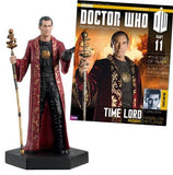 #11 Time Lord Doctor Who Figurine With Collector Magazine-Eaglemoss