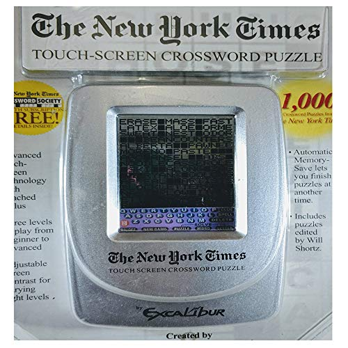 The New York Times Touch-Screen Crossword Puzzle