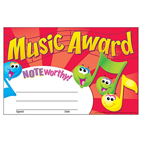 Trend Enterprises, Inc. Music Award Recognition Awards, 30 Ct