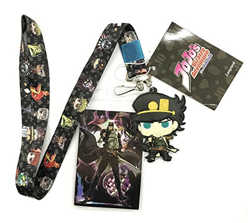 Great Eastern Entertainment Jojo'S Bizarre Adventure- Group Lanyard, One Size, Multicolor