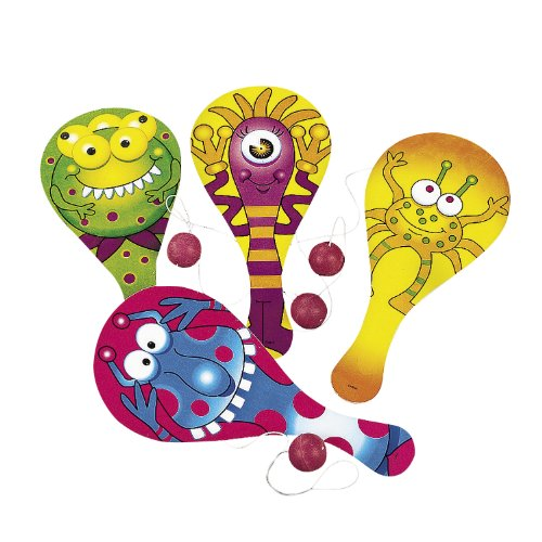 Monster Paddleball Games (1 Dz)