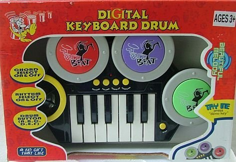 Digital Key Board Drum