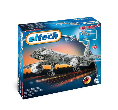 Eitech Construction Set 300+ Metal Pieces