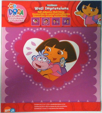 Borders Unlimited Dora Best Friends Wall Impressions (12 X 12)