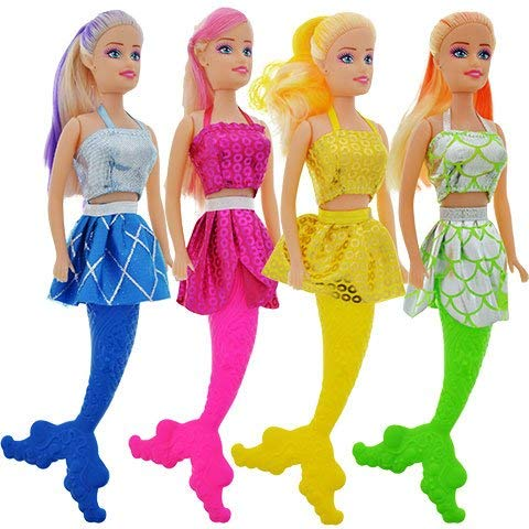 4 Play House Mermaid Toy Dolls 11
