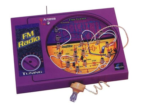 Maxitronix  Fm Radio Experiment Kit