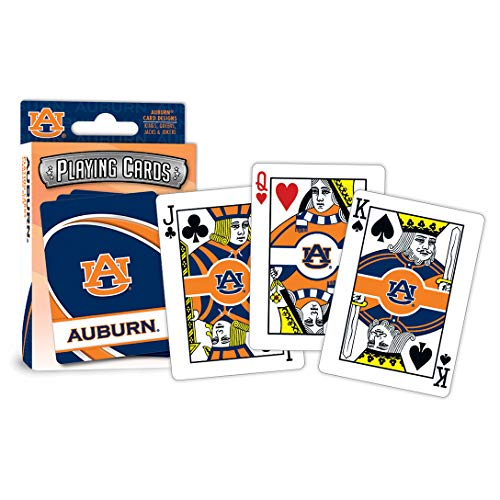 Masterpieces Ncaa Auburn Tigers Playing Cards