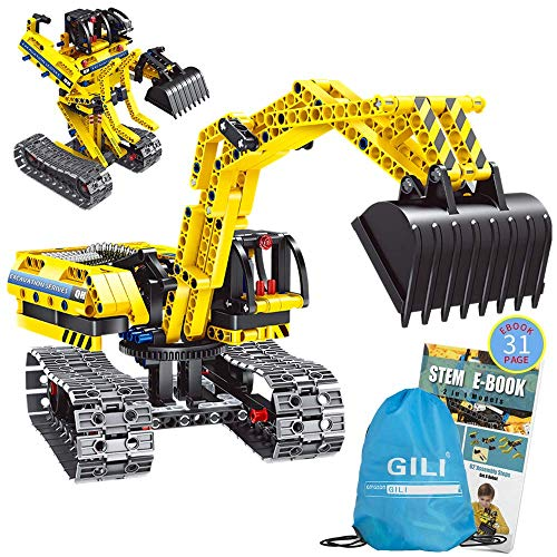 Gili Building Sets For 7, 8, 9, 10 Year Old Boys &Amp; Girls, Construction Engineering Robot Toys For Kids Age 6-12, Educational Stem Gifts For Kids
