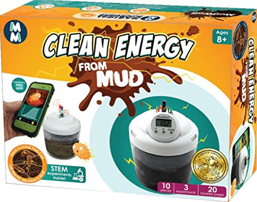Mudwatt Magical Microbes Stem Kit: Clean Energy From Mud! | Classic