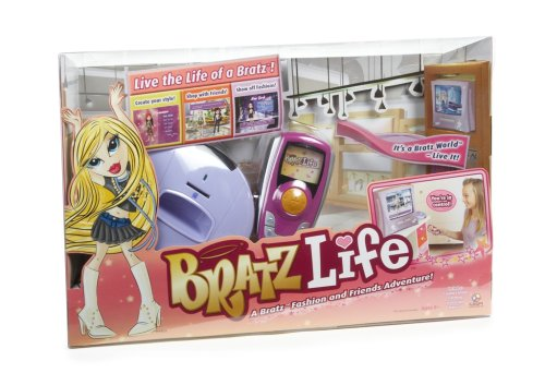 Bratz Life Interactive Dvd Board Game
