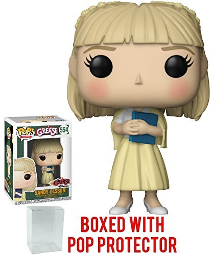 Funko Pop! Movies: Grease - Sandra Dee Vinyl Figure (Bundled With Pop Box Protector Case)