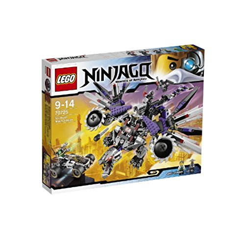 Lego Ninjago Nindroid Mechdragon And Nyas Car With 5 Minifigures Set | 70725