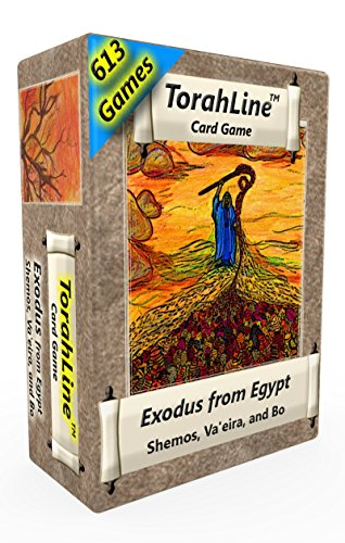 Torahline Card Game, Exodus From Egypt (English Only 1St Ed.)