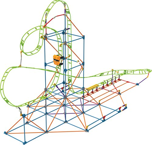Knex Thrill Rides  Infinite Journey Roller Coaster Building Set  347 Pieces  Ages 7+  Engineering Educational Toy