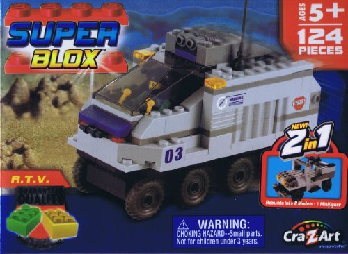 Super Blox Special Forces A.T.V. 124 Pieces