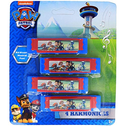 Kidplay Products Paw Patrol Harmonicas Pawsome Musical Fun!