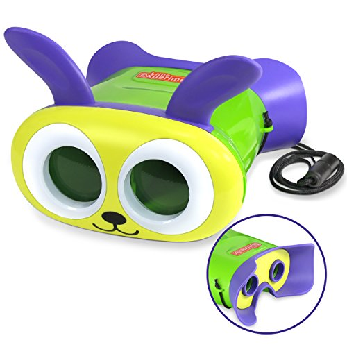 Little Experimenter Bunny Binoculars For Kids - Toy Binoculars For Toddlers - Lightweight &Amp; Durable