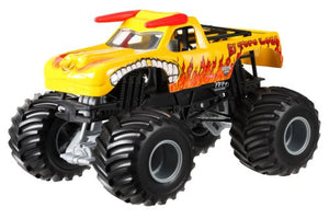 Hot Wheels Monster Jam El Toro Loco Yellow Die-Cast Vehicle, 1:24 Scale