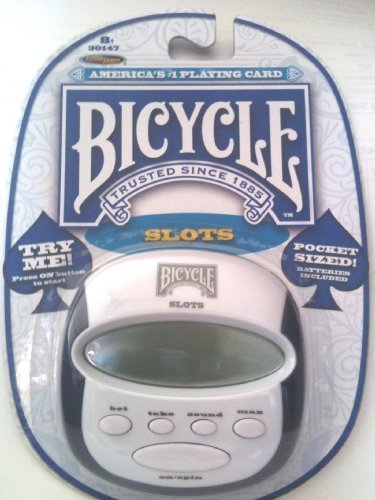 Bicycle Pocket Slots Game, 3  X 3 , With Sound Control &Amp; Auto Shut Off