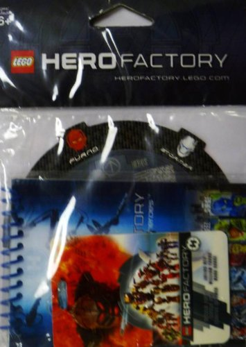 Lego Hero Factory Set #2856108 Book Card