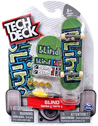 Tech Deck Blind Series 5 Green With Blue #20086588