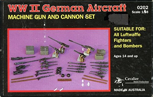 Cavalier Model 1:48 Wwii German Aircraft Machine Gun & Cannon Set #0202*