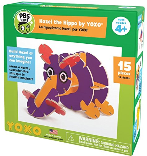 Pbs Kids Hazel The Hippo Creative Building Toy By Yoxo