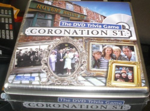 Coronation Street The Dvd Trivia Game In Gift Tin