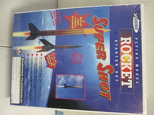 Estes Flying Model Rocket Starter Set  Super Shot