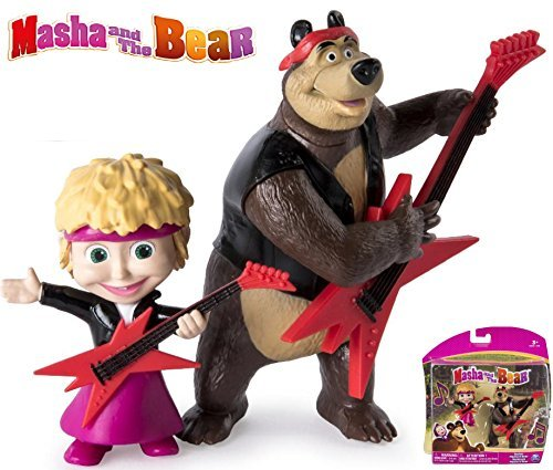 Masha And The Bear - Rocker Masha And The Bear Action Figures