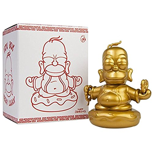 Lootcrate September 2015 The Simpsons 3-Inch Golden Homer Buddha By Kidrobot By Kidrobo