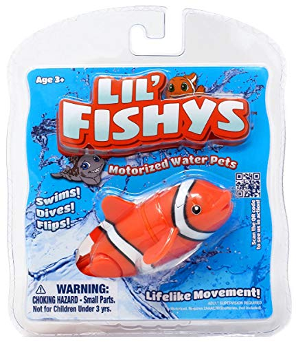 Lil Fishys Motorized Water Pets - Lucky - Batteries Included!