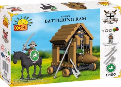 Cobi Grunwald Union Battering Ram 100 Piece Building Block Set