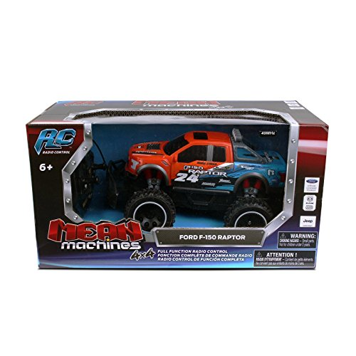Nkok Mean Machines Rc 1:24 2017 Ford F-150 Raptor