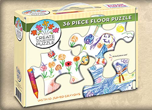 Cobble Hill Create Your Own 36 Piece Floor Puzzle