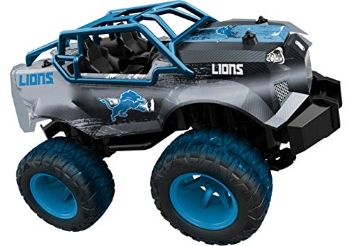 Officially Licensed Nfl Remote Control Monster Trucks Detroit Lions