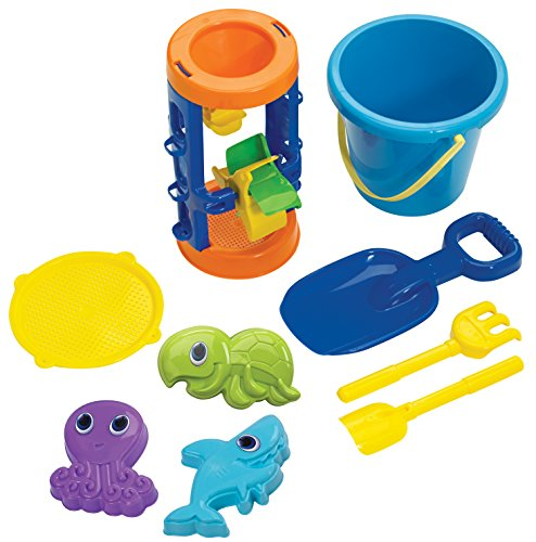 American Plastic Toy Sand Castle Building Assortment Playset