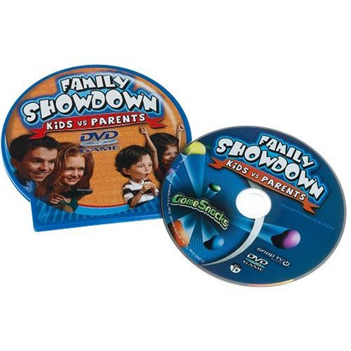 Game Snacks - Family Showdown Kids Vs. Parents Dvd Game