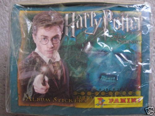 Harry Potter Order Phoenix Panini Stickers 50 Packs Box