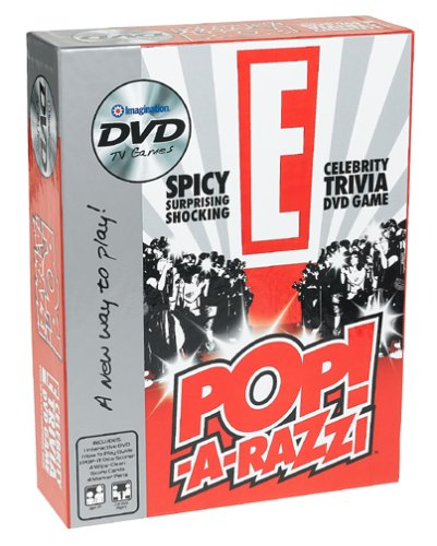 E Celebrity Pop-A-Razzi Trivia Dvd Game