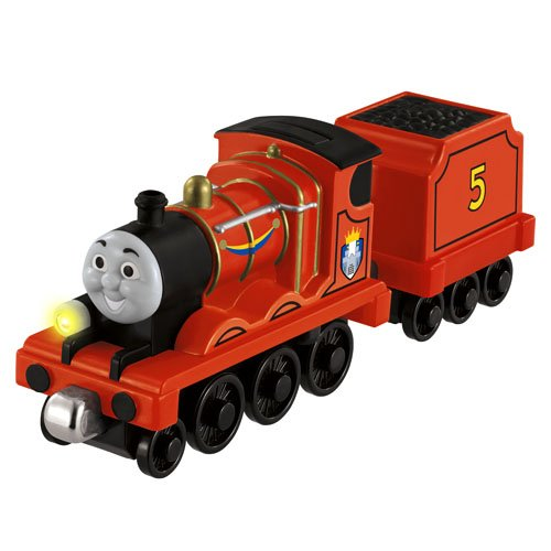 Fisher-Price Thomas &Amp; Friends Take-N-Play, Talking James Train Set With Crest