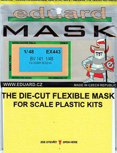 Eduex443 1:48 Eduard Mask - Bv 141 (For Use With The Hobbyboss Model Kit) [Model Kit Accessory]