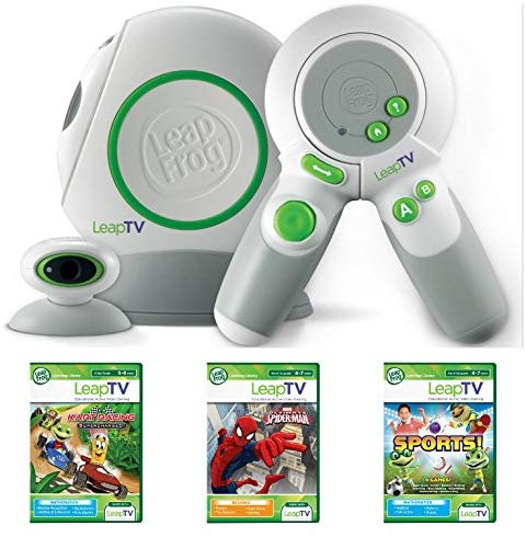 Leapfrog Leaptv Educational Gaming System Bundle Plus 3 Games!