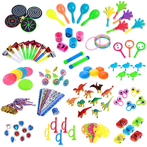 Toymytoy Party Favors For Kids Toy Assortment 120Pcs Carnival Prizes Boys Girls Bulk Toys
